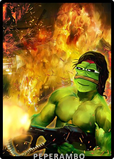 Rare Pepe - PEPERAMBO