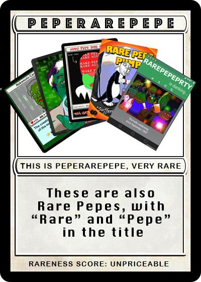 Rare Pepe - PEPERAREPEPE
