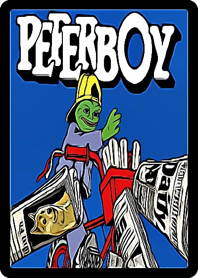 Rare Pepe - PEPERBOY
