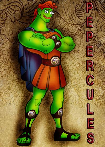 Rare Pepe - PEPERCULESS