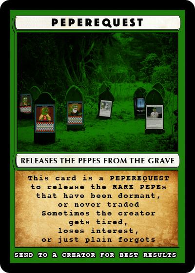 Rare Pepe - PEPEREQUEST
