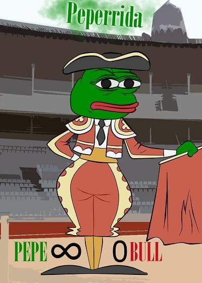 Rare Pepe - PEPERRIDA