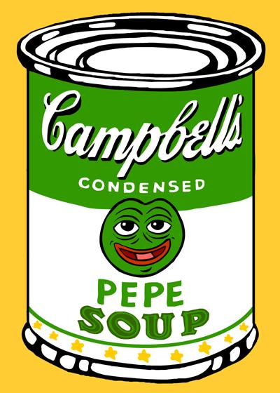 Rare Pepe - PEPESOUP