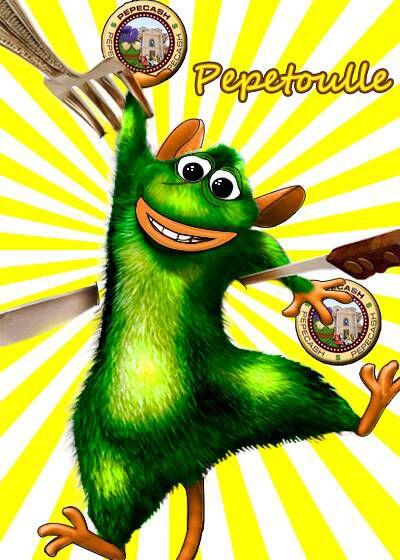 Rare Pepe - PEPETOULLE