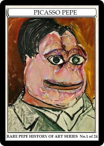Rare Pepe - PICASSOPEPE