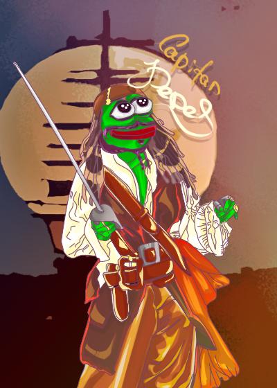 Rare Pepe - PIRATPEPE