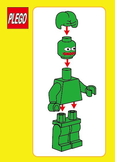 Rare Pepe - PLEGO