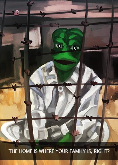 Rare Pepe - PYJAMASPEPE