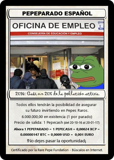 Rare Pepe - PEPEPARADO