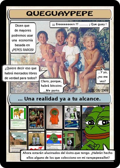 Rare Pepe - QUEGUAYPEPE