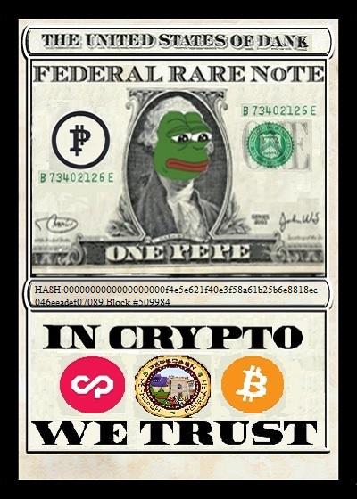 Rare Pepe - RAREPEPENOTE