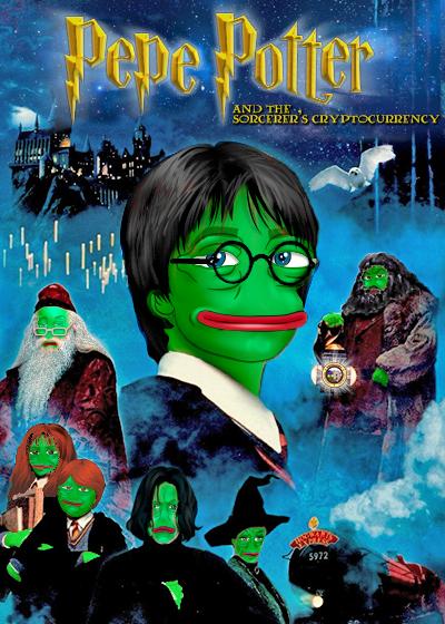 Rare Pepe - RAREPOTTER