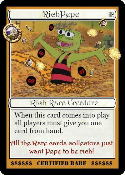 Rare Pepe - RICHPEPE