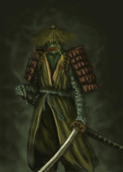 Rare Pepe - RONINKEK