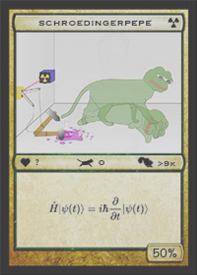 Rare Pepe - SCHROEPEPE