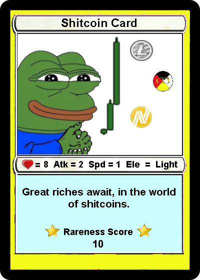 Rare Pepe - SHITCOINCARD