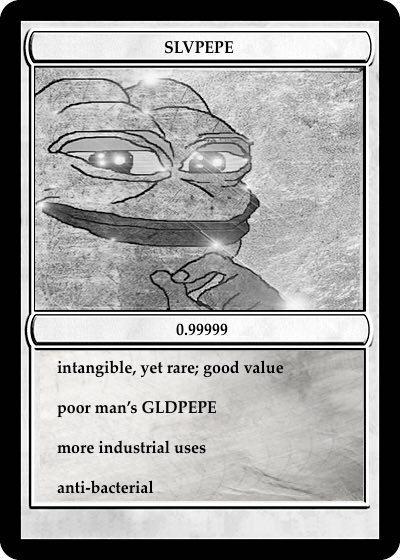 Rare Pepe - SLVPEPE