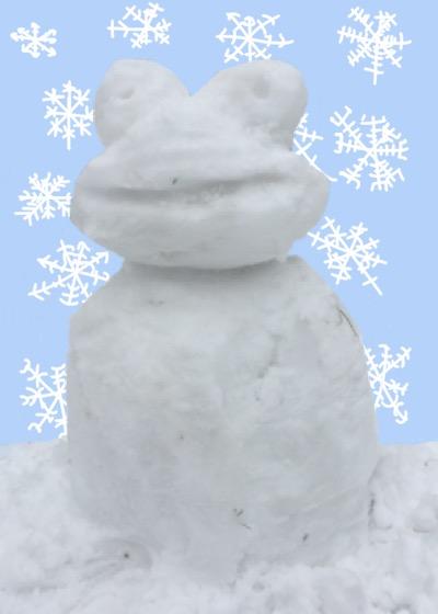 Rare Pepe - SNOWMANPEPE
