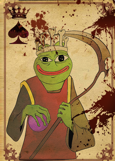 Rare Pepe - SPADESPEPE