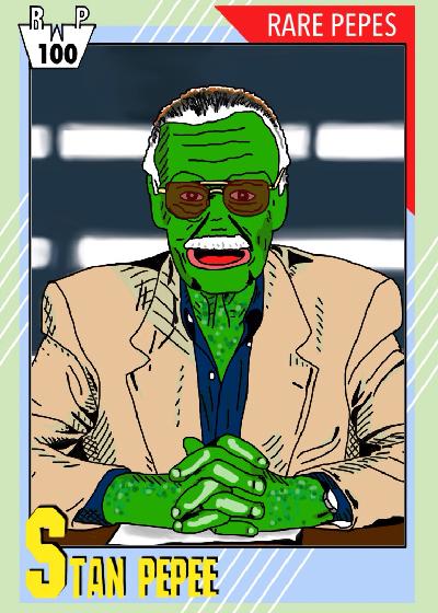 Rare Pepe - STANPEPEE