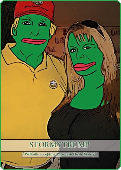 Rare Pepe - STORMYTRUMP
