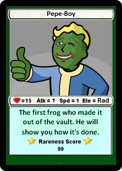 Rare Pepe - PEPEBOY