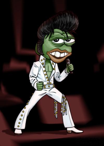 Rare Pepe - THEKINGPEPE