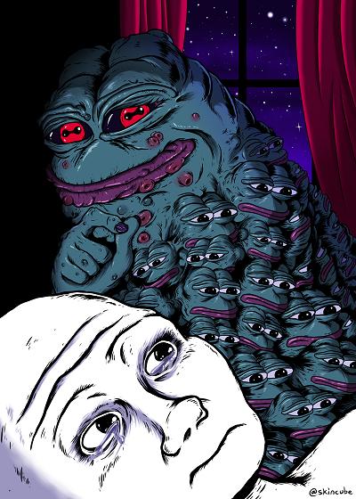 Rare Pepe - WHOAPEPE