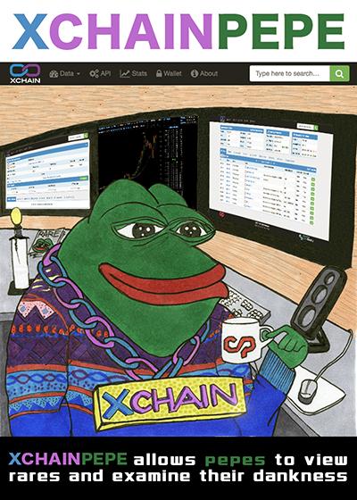 Rare Pepe - XCHAINPEPE