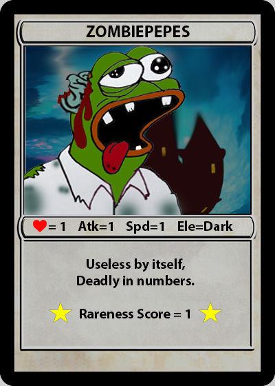 Rare Pepe - ZOMBIEPEPES