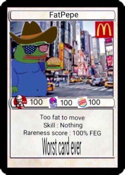 Rare Pepe - FATPEPE