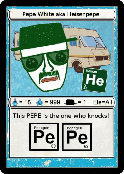 Rare Pepe - HEISENPEPE