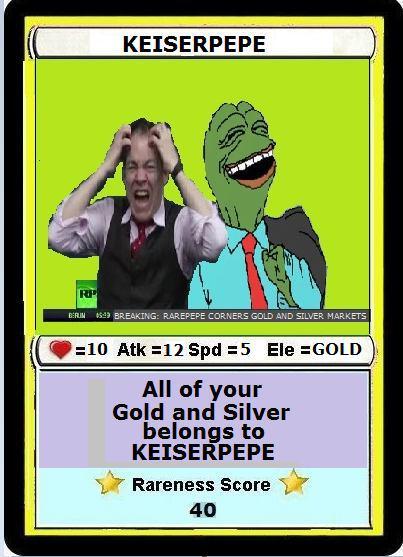 Rare Pepe - KEISERPEPE
