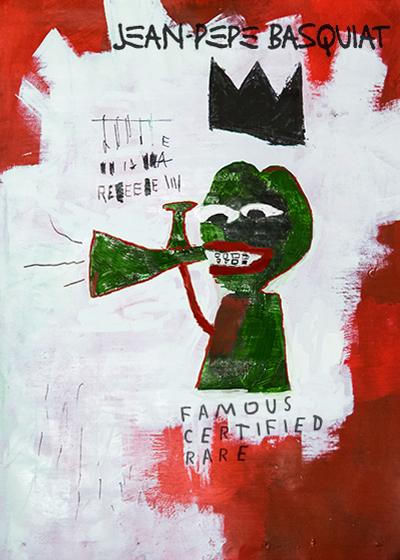 Rare Pepe - PEPEBASQUIAT