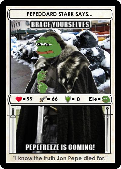 Rare Pepe - PEPEFREEZE