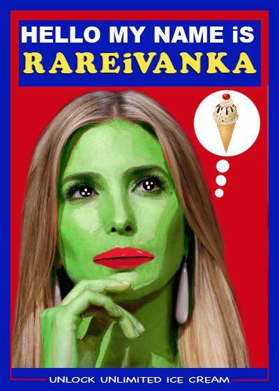 Rare Pepe - RAREIVANKA