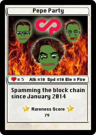 Rare Pepe - PEPEPARTY