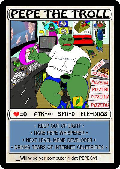 Rare Pepe - PEPETHETROLL