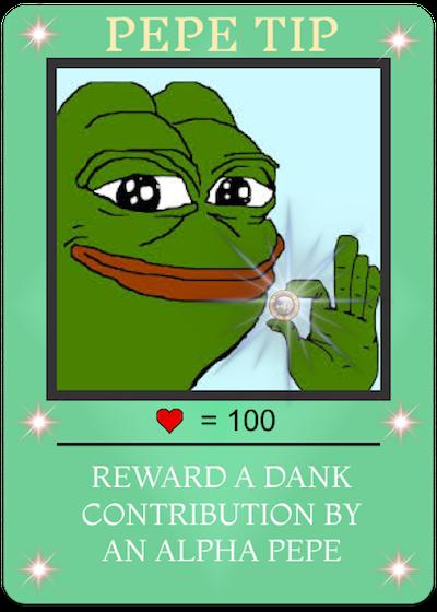 Rare Pepe - PEPETIP