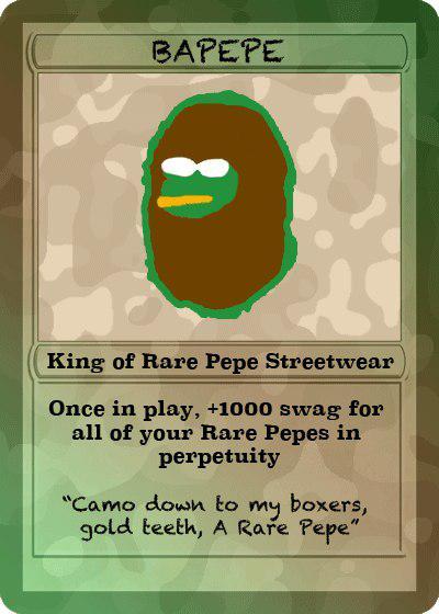 Rare Pepe - BAPEPE