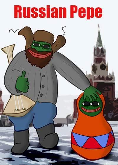 Rare Pepe - PEPERUSSIAN