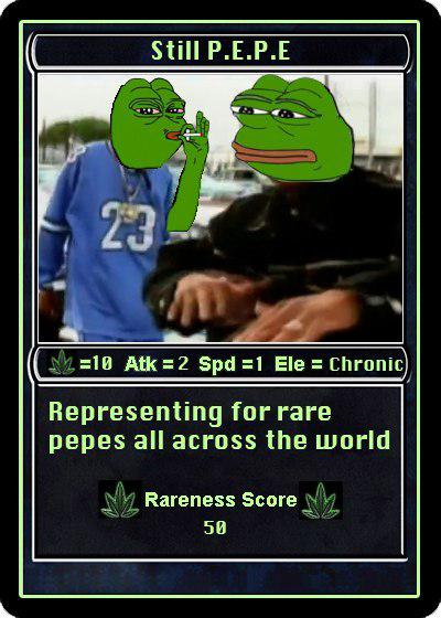 Rare Pepe - STILLPEPE