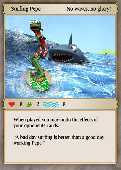 Rare Pepe - SURFINGPEPE