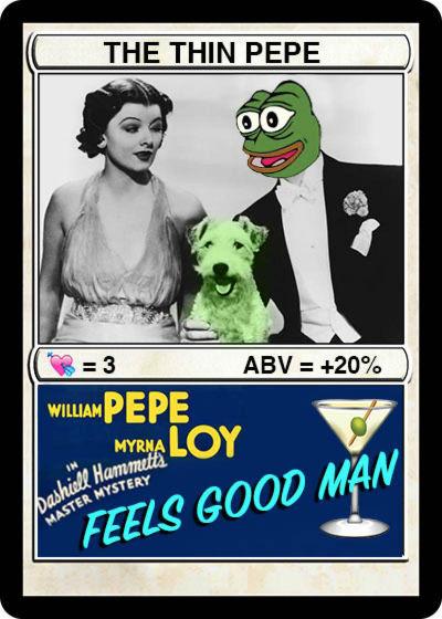 Rare Pepe - THINPEPE