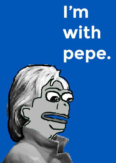 Rare Pepe - IMWITHPEPE