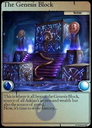 Spells of Genesis - GENESISCARD