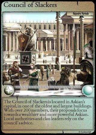 Spells of Genesis - SLACKCARD